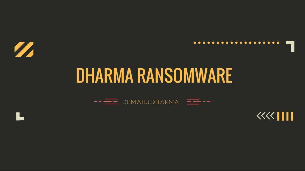 Bad Dharma (Its been a busy week)